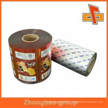 Fabricant d'emballage lamination emballage alimentaire sac de film plastique pour snack
