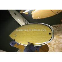 Tabla de surf de epoxy de bambú colorida vendedora caliente 2016