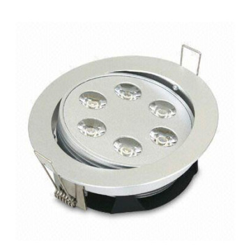 SY LED Downlight Power LED 6X1W
