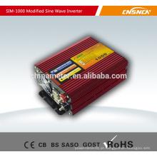 Inversor de energia de onda sinusoidal modificado 12v 220v 1000W modificado