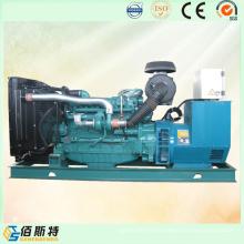 450kw silencioso diesel conducido generador portátil conjunto con motor de marca