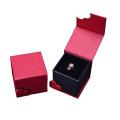 Red Jewelry Gift Box Ring Pendant Bracelet Box