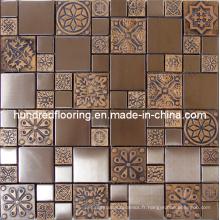 Mosaïque en métal en acier inoxydable à paroi murale (SM203)