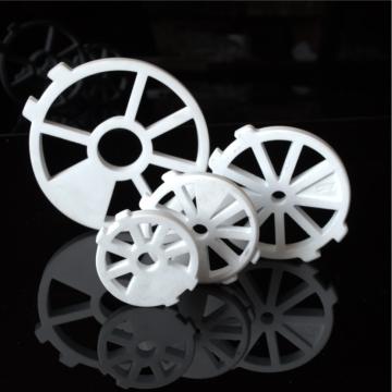 Componentes de válvula de cerâmica de alumina resistentes à abrasão