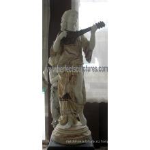 Резная нефритовая каменная скульптура для украшения ландшафтного сада (SY-C1230)