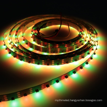 SK6812 SMD 4020 addressable RGB Side emitting LED Strip 64leds/M