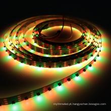 Lado emissor de luz endereçável 64leds / M do RGB do diodo emissor de luz de SK6812 SMD 4020