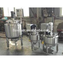 Réservoir de mélange de confiture électrique en acier inoxydable avec agitateur
