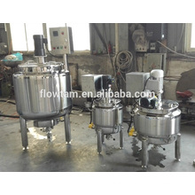 stainless steel electric jam mixing tank with agitator