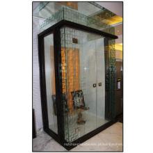 Cerca da associação, vidro da porta interior / porta do chuveiro / vidro de folha desobstruído