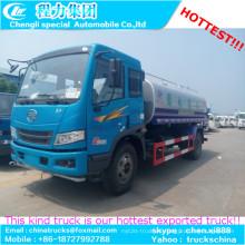 Venta de camiones de 16000liters acero FAW usado aceite líquido transporte petrolero