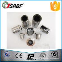 Китай хромированный стальной материал LMF / LMK серия квадратные фланцевые линейные подшипники