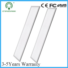 Grosor de aluminio 5 años de garantía 2X2FT LED empotrable de iluminación del panel