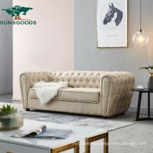 European Design Luxury Classic Genuine Leather 1 2 3 Sofa Furniture