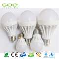 9w e27 hight power dome incandescent Aluminum LED bulb replacement with 3years warranty