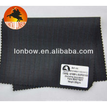 Tela de traje merino de los hombres de lana Super100 Italia en stock
