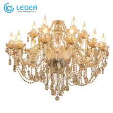 LEDER Classic Crystal Pendant Lights