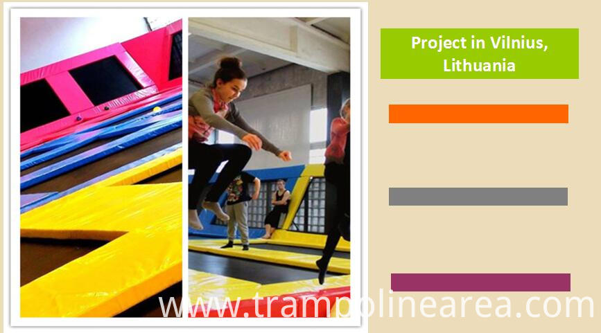 Projects of trampoline  Ladder