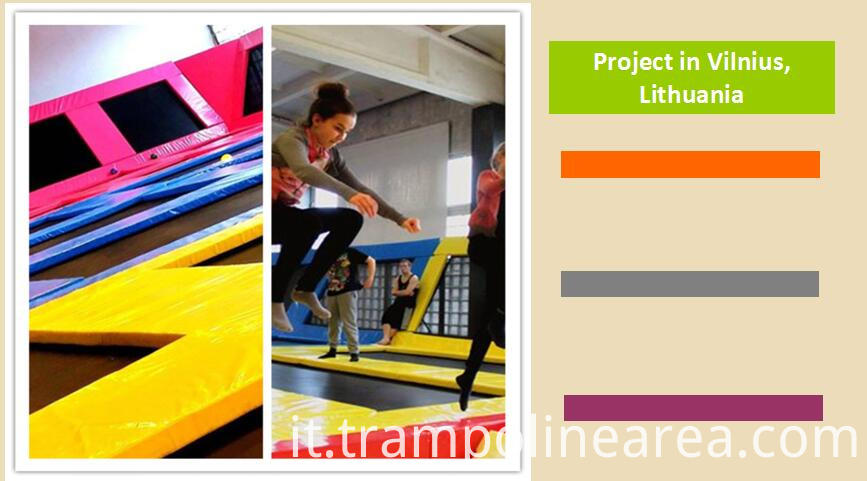 Projects of indoor trampoline arena