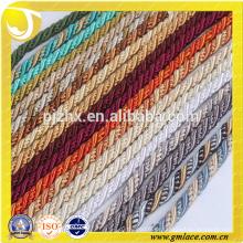 Farbiges dekoratives Seil für Kissen Dekor Sofa Dekor Wohnzimmer Bett Zimmer