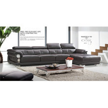 High Quality Genuine Leather Sofa in Living Room (31)