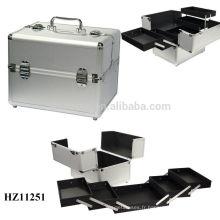 nouveau design & vente chaude aluminium maquillage affaire haute qualité
