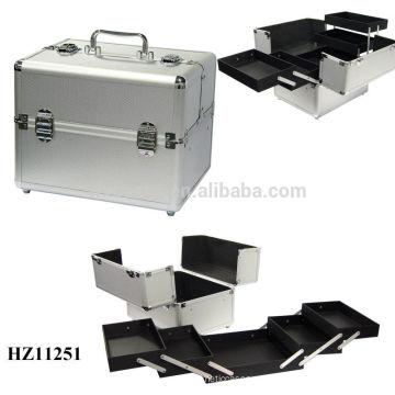 nuevo diseño y maquillaje de aluminio venta caliente del caso alta calidad
