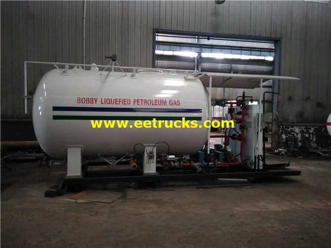 Cooking Gas Skid Plant