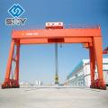 China Famous Brand Henan Yuntian Single Girder motorized Gantry Crane
