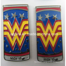 Custom Made Metal Emblem as Brooch Pin (badge-216)