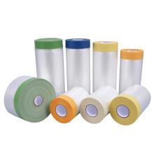 Película protetora de plástico de proteção de arte de parede de uso geral amarela