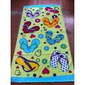 Customized colorful printed quick dry beach towel