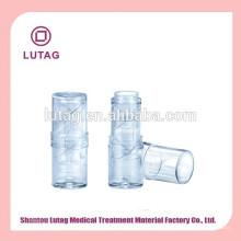 Transparentes vacíos cosméticos envases envase de bálsamo de labio