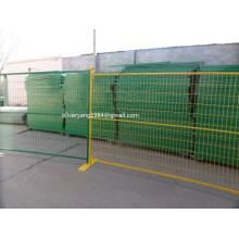 30x30mm tube carré de service moyen enduit de poudre temporaire de chantier de construction temporaire canadien pour la location avec une longue durée de vie