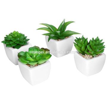 Мини-завод горшках купить различные искусственные пластиковые растения растения для декора