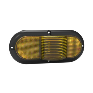 "6 ""Oval 100% Vattentät UV PC LED Truck Marker Lampa"