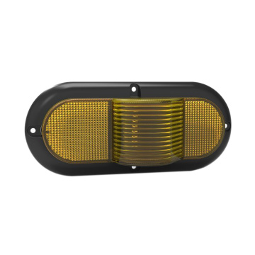 Alta qualidade Oval UV PC Amber Truck Marker Lighting