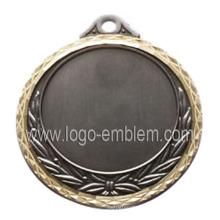 Diseña la medalla en blanco