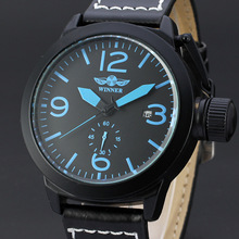 sapphire dial design mechanical watch winner men watch