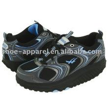 Hombre, condición física, zapato