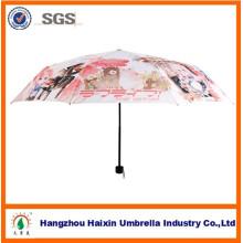 Japanische Comics und Animation Regenschirm