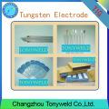 WT-20 2% électrodes de tungstène TIG de 4,0 mm 5/32 '' Thoriated