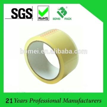 Company Logo Printing Box Sealing BOPP Color Transparent Hot Melt Adhesive BOPP Tape