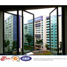 Double vitrage en aluminium / PVC UPVC / Fenêtre en plastique Swing