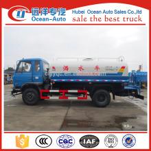 Dongfeng 10000 litros camión de agua bowser, 10cbm camión cisterna de agua para la venta