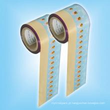 Alumínio Twist Sweet Wrapper Roll Film para Embalagem