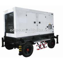 С водяным охлаждением, электрический запуск 60 Гц малошумный прицеп генераторный агрегат