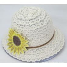 Flower Lace Bucket Hat