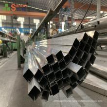SS304 Wholesale Custom Mirror Welded  Stainless Steel Handrail  Square Pipe Balustrade