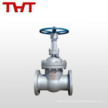 carbon steel flanged russian gate valve weight WCB A216